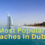 Top Rated Beaches in Dubai