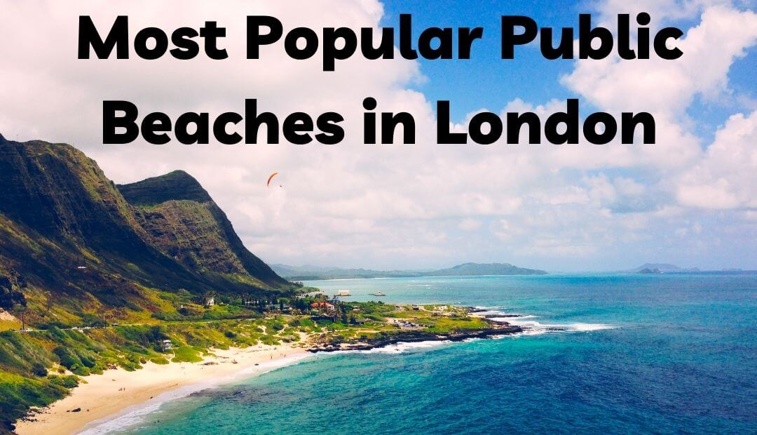 Most popular public beaches in London